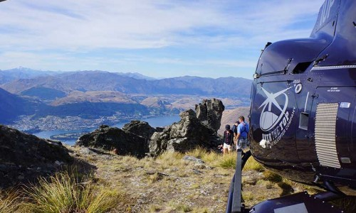 Queenstown Helicopter Cecil Peak Landing