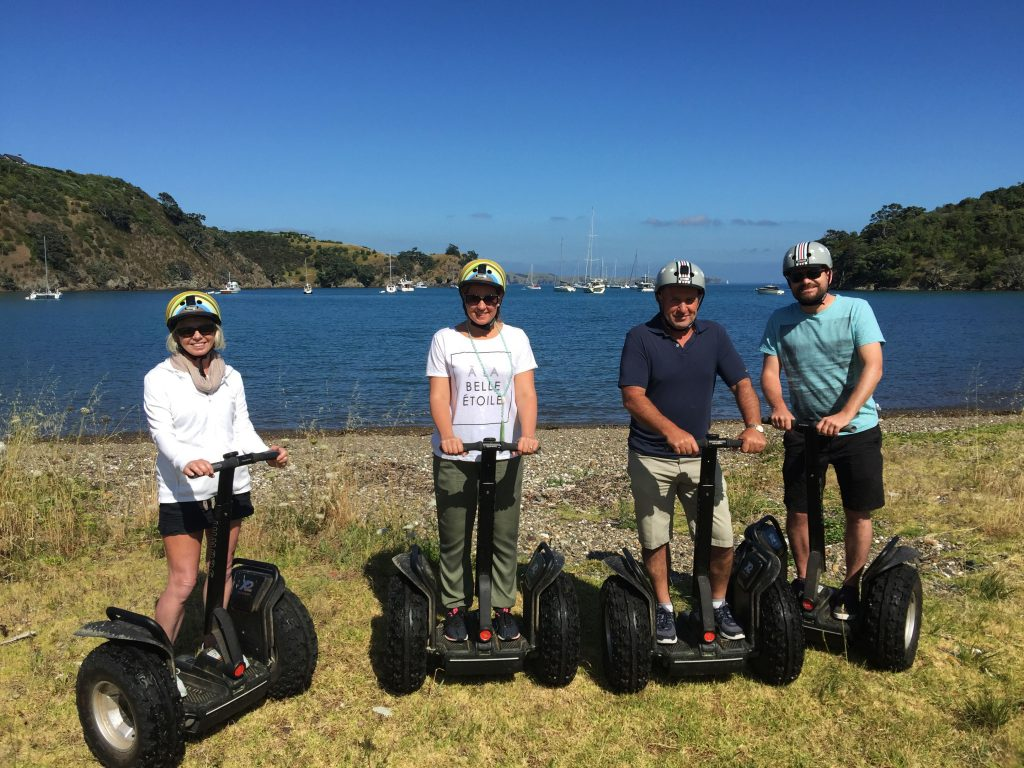 Waiheke Seg Way & Wine Tour